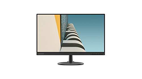 Lenovo D24-20 - Monitor de 23.8' FullHD (1920x1080 pixeles, 16:9, 75Hz, 4ms, 1000:1, Puertos VGA + HDMI, 3 lados sin bordes), Color Negro