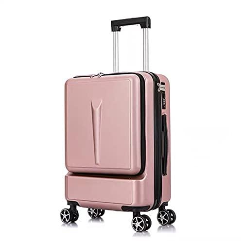 YUXINYAN Trolley Cabina 20'Pollici Donne rotolando Bagaglio da Viaggio Valigia da Viaggio con Borsa for Laptop Uomo Carrello Ruota Universale Addominali Box Moda Suitcase. Valigia Bagaglio A Mano