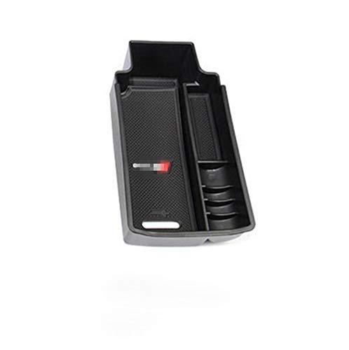 Caja para reposabrazos de consola central de coche, caja de almacenamiento secundaria, compatible con Q3 2013-2018