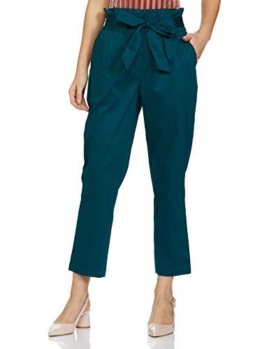 Amazon Brand – Symbol Women's Tapered Ankle Length Pants Slim Work Utility
