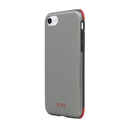 Incipio Tumi della Custodia per iPhone 7–Spazzolato Canna di Fucile/Rosso