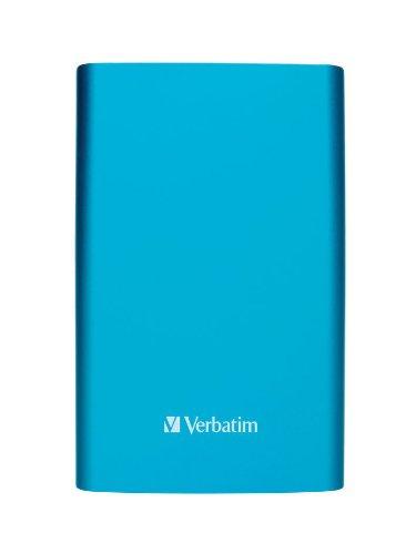 Verbatim Store 'n' Go 1TB externe Festplatte (6,4 cm (2,5 Zoll), 5400rpm, 8MB Cache, USB 3.0) caribbean blau