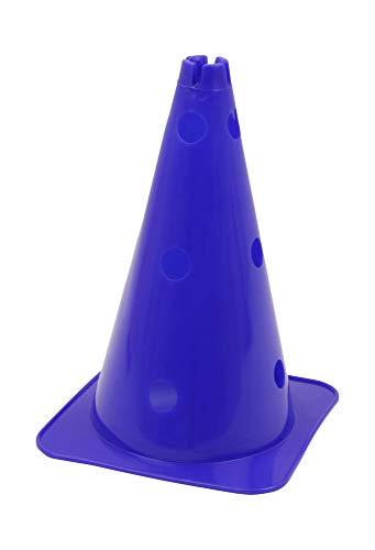 Vinex Hütchen, Kegel mit Löchern für Stangen, 38 cm, blau