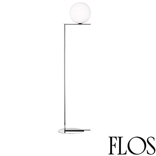 Flos IC F2 vloerlamp chroom glas geblazen design M.Anastassiades F3174057