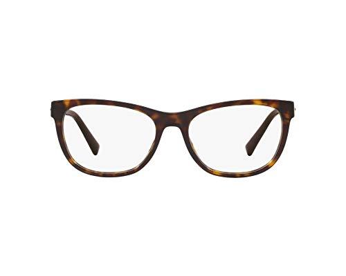 Versace 0VE3263B Monturas de gafas, Dark Havana, 54 para Mujer