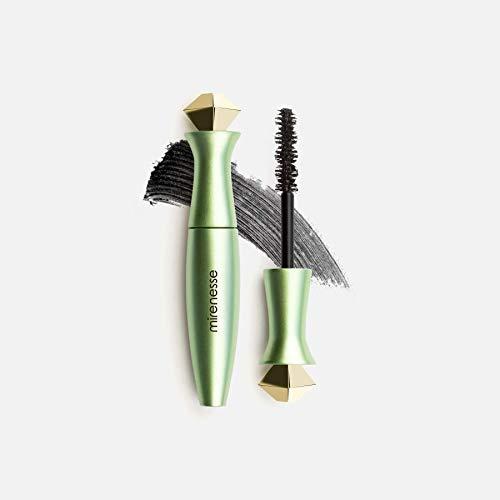 Mirenesse Secret Weapon Organic 24hr Mascara, Strengthens & Volumizes Lashes, Microwrap Tubing Formula, Winner of 13 Best Mascara Awards, Safe for Sensitive Eyes, Vegan & Toxin Free, Black 0.14oz Mini