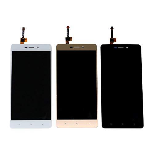 un known Sostituzione Compatibile for Xiaomi for redmi 3 / 3S / 3 PRO Display LCD Touch Screen Sostituzione Digitizer Assembly for Xiaomi for redmi 3 S Screen Display (Color : White, Size : 5.0')
