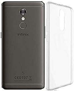 TPU Silicon Back Cover For Infinix Hot S2 Pro X522 - Clear