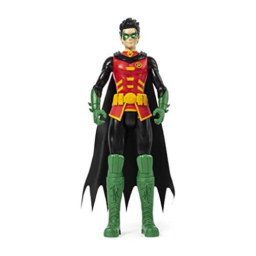 DC Comics, Batman, ROBIN, Personaggio da 30 cm articolato, dai 3 anni - 6056692