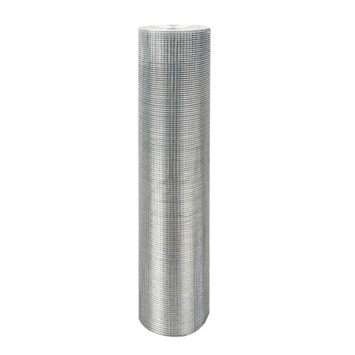 36x100 Hardware Cloth 1/2Inch Wire Mesh Galvanized Chicken Wire Fence for Garden, Plant, Poultry Netting, Fencing