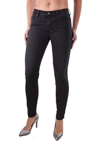 Diesel Doris 0668C Jeans da Donna Pantaloni Super Slim Skinny (Nero, W27/L32)