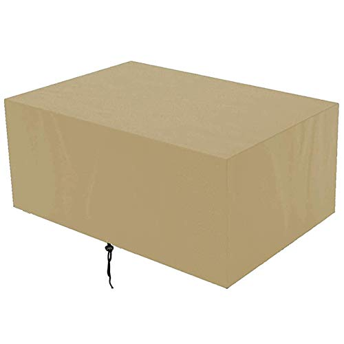 DKLE Garden Furniture Cover, Waterproof Windproof Oxford Cloth 420D Large Garden Table Cover, for Sofas, Tables and Chairs, Outdoor Furniture