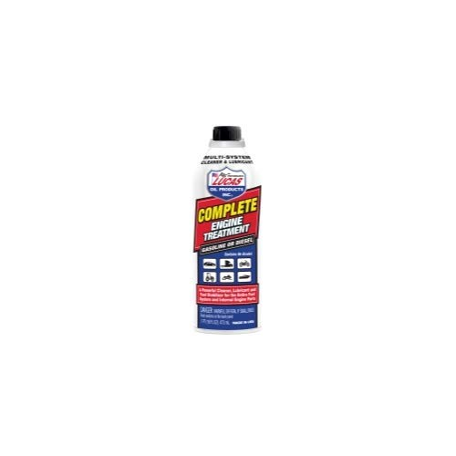 Lucas Complete Engine Treatment Cleaner & Lubricator (16 oz) - Pack of 12