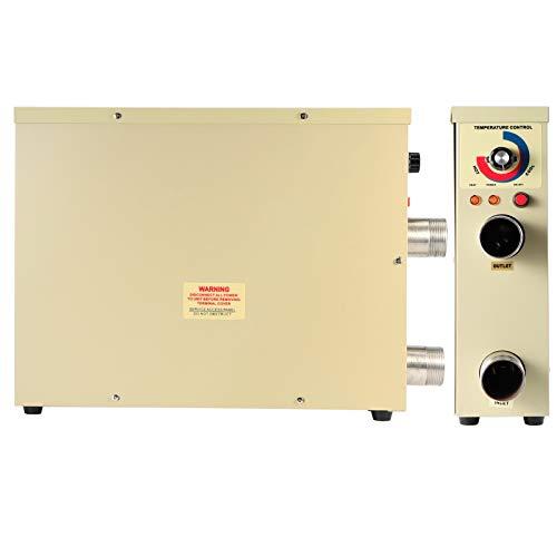 Accesorio, calentador eléctrico portátil, termostato, calentador de agua, piscina de baño para bañera de hidromasaje, spa