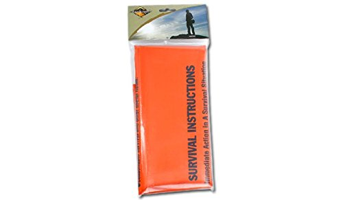 BCB Adventure First Aid Survival Bag, orange, 720 x 915 x 1830 mm