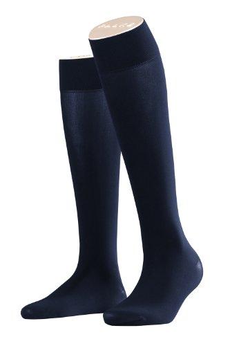 Falke Pure Matt 50 denier Kniekousen voor dames, semi-ondoorzichtig, mat, 1 paar, verschillende kleuren, maat 35-42 - semi-opaque fijne kniekousen met mat effect, Sensitive Top manchetten