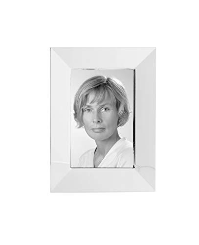 Fink THEA Bilderrahmen in Geschenkbox, Edelstahl, Silber, 18 x 13 x 18 cm