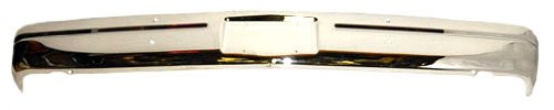 OE Replacement Dodge Pickup/Ramcharger Front Bumper Face Bar (Partslink Number CH1002145)