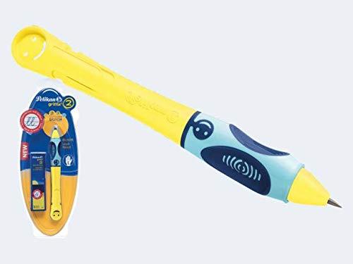 Bleistift Griffix gelb L Stufe 2 inkl 3 Minen Blk