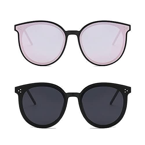 Dollger Gafas de sol polarizadas redondas para hombres y mujeres