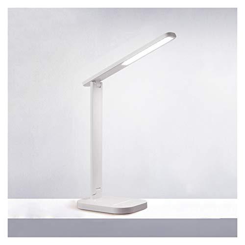 Lámpara Escritorio LED Lámpara de escritorio LED, lámpara de escritorio regulable con 44 perlas de lámpara LED, lámpara de lectura, 4 modos de iluminación con 10 niveles de brillo, control táctil Lámp