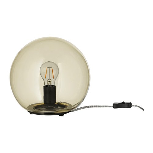 Unbekannt IKEA Fado–Lámpara de Mesa en Amarillo; (24cm); A + +