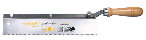 Augusta, Sega a dorso regolabile, 250 mm, per tagli obliqui legno, 2137 250 AMA