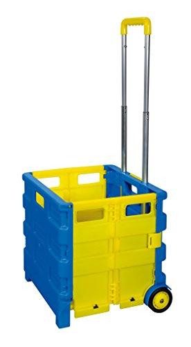 Acquisto Trolley pieghevole fino a 25 kg Borsa pieghevole acquisto Roller carrello per la spesa fmd Trolley