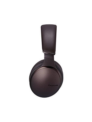 Panasonic RP-HD605NE-T Noise Cancelling Kopfhörer Bluetooth (Sprachsteuerung, ANC Kopfhörer, bis 20 h Akkulaufzeit, Over-Ear) braun