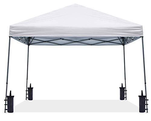 ABCCANOPY Stable Pop up Outdoor Canopy Tent, White