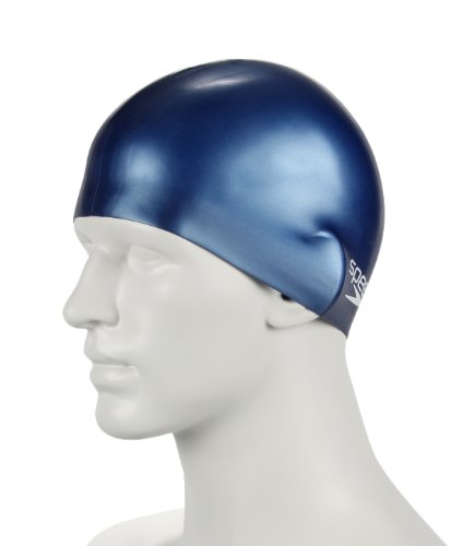 "Speedo Bonnet de natation junior ""MOULDED SILICON"" Bleu Marine"