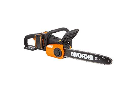 WORX WG384E 36V (40V Max) Dual Battery Cordless 35cm Brushless Chainsaw