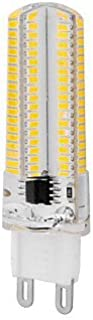 Felaaca 1 Piece Dimmable Corn Bulbs G9 10 W 1000 LM 2800-3200/6000-6500 K 152 SMD 3014 Warm White/Cool White AC 220-240 V, Warm White [Energy Class A ++]