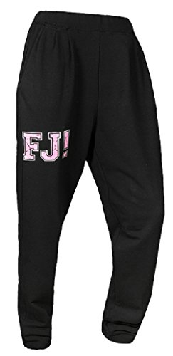 FeelJ! Damen Pants Stark, Black, One Size, FJ5902349670713