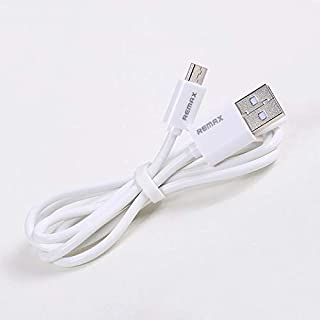 REMaX Fast Charging Data Cable For Mobile Phone Micro USB [RC-007,white]