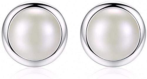 Stijlvolle Eenvoud en Charmante Witte Parel Oorbellen voor Vrouwen Piercing Meisjes Stud Oorbellen Trouwen Sieraden, N-J 1