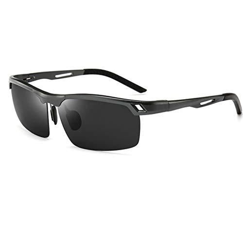 Sunglasses,Polarized Sunglasses ,for Men and Women Polarized Sunglasses, UV Resistant Sunglasses (Size : Black)