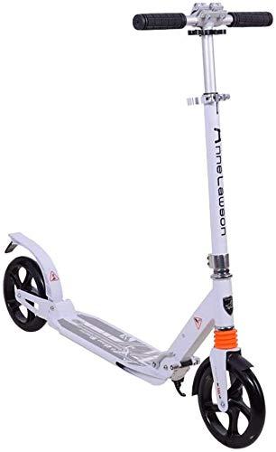 LYC Patinete plegable para adultos – 2 ruedas grandes de poliuretano, scooter...