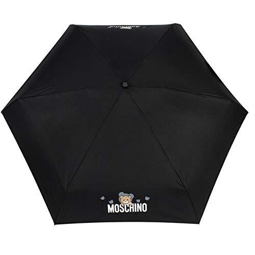Regenschirm Moschino supermini shadow bear schwarz