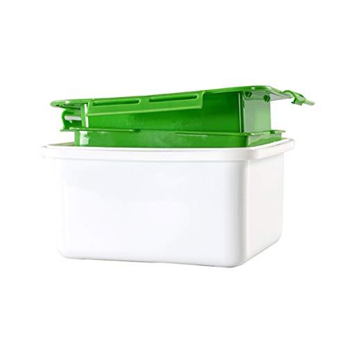 GDglobal Tofu Presser, Tofu Drainer Wasserentfernungsgerät Entfernen Sie leicht Wasser aus dem Tofu für mehr Schmackhafter