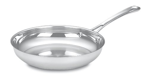 Cuisinart 422-24 Contour Stainless 10-Inch Open Skillet