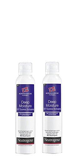 Neutrogena Deep Moisture Express Body Spray, 200ml - Lot de 2