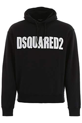 DSQUARED2 Sweatshirt Logo mit Kapuze S74GU0358S25030 Farbe Schwarz, Schwarz Large