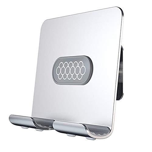 Runtodo Soporte de Pared Adhesivo Soporte de Tableta para TeléFono de Pared Soporte de Pared para Air / / Gris Plateado