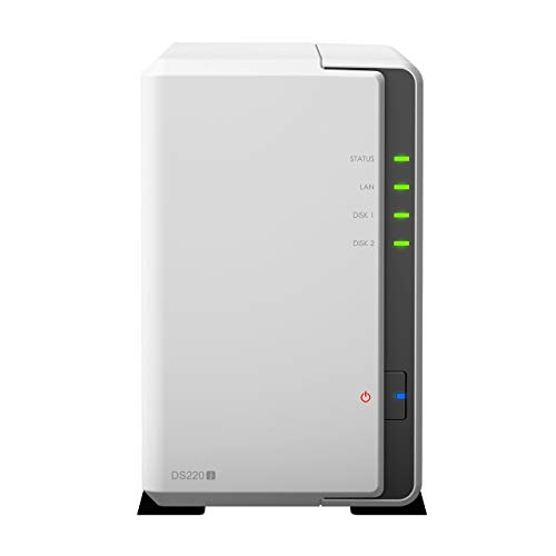 Synology DS220j 2 Bay 4TB Bundle mit 2X 2TB IronWolf ST2000VN004