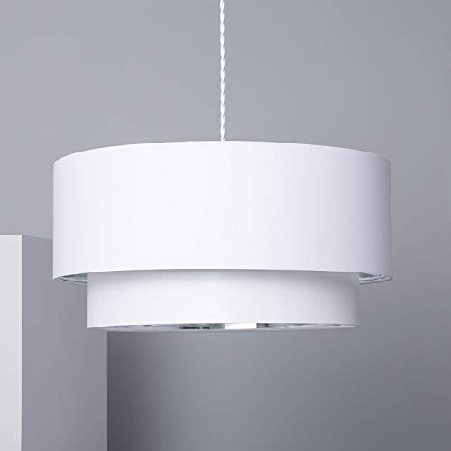LEDKIA LIGHTING Lampada a Sospensione Reflect Duo Bianco