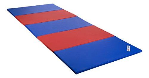 Sport-Thieme Faltmatte, 300x120x3 cm, Blau-Rot
