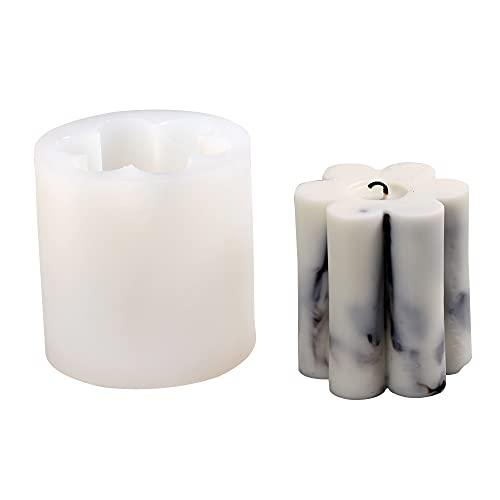 Molde de vela de silicona para día de San Valentín DIY aromaterapia vela molde