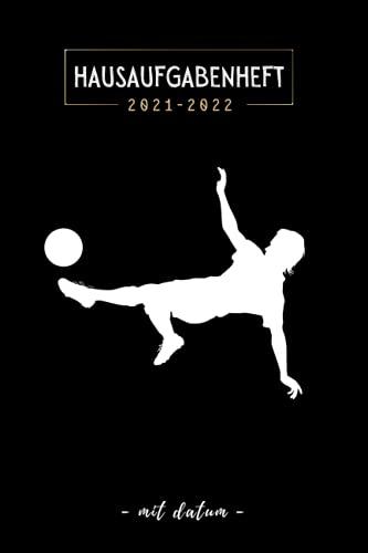 Hausaufgabenheft 2021/2022 mit datum: September 2021 bis Juli 2022   Schülerkalender Mit Datum, Platz Für Aufgaben, Stundenplan, Notizen   gymnasium   Fußball , Junge