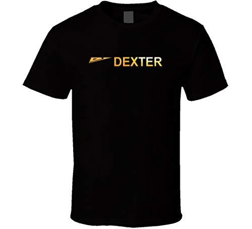 Dexter Fishing Tackle Lure Vatertagsgeschenk T-Shirt schwarz Gr. L, Schwarz
